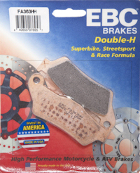 EBC Motorcycle Double H Brake Pads -  Sports Sintered HH Disc Pads