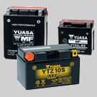 Largest range of genuine Yuasa power sports batteries to suit, motorcycle, scooter, ATV, Quad Bike, Jet Ski & Snowmobile
