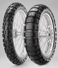 Pirelli Dual Scorpion Rally Tyre - to suit BMW R1200GS water cooled and KTM 1190 Adventure | front 120/70R 19 - rear 170/60R 17