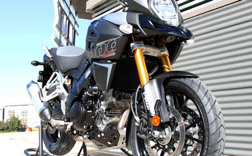 V-Strom DL1000 2015 fitted with Scorpion Trail II Adventure Tyres